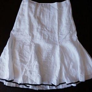 LAUREN Ralph Lauren linen tulip skirt